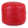 Red Tabouret Fez Pouf